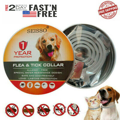 DEWEL Seisso Cheaper than Seresto! Flea Tick Control Collar for Large Dog 1 Year