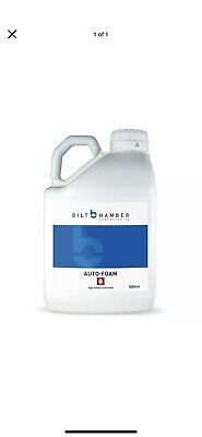 Bilt Hamber Auto Foam Snow Foam Prep Cleaner for pressure washers 5 X Litres