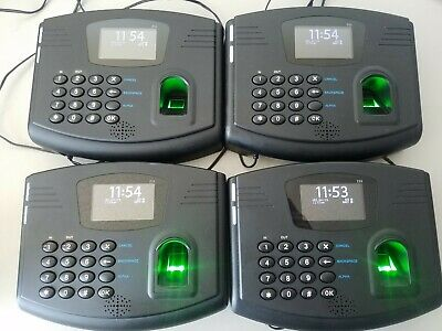 Flexclock Z33 (Rounded Model) Biometric Timeclock FREE SHIPPING
