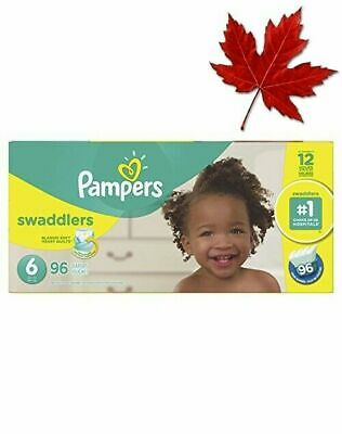 Diapers Size 6 - Pampers Swaddlers Disposable Baby Diapers, 96 Count, Economy...