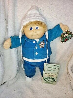 1983 Fuzzy Double Hong Kong Boy With Original Papers And Hang Tag