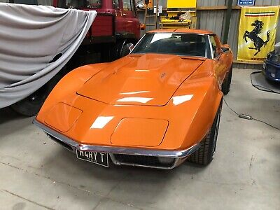 Chevrolet Corvette Stingray TargaTop C3 1971 454 big block