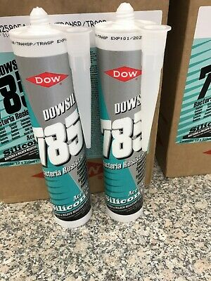 Dow Corning Clear 785 Silicone Sealant Box 2 Brand New