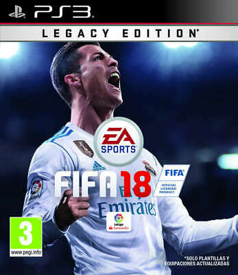 Fifa 18, Ps3 (Playstation 3), Castellano, Store España (No Disco) Digital