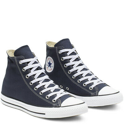 CONVERSE Chuck Taylor All Star Classic High Top Scarpe Sneakers NAVY M9622C