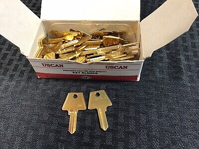 1046 AM6 American Square Head key Blanks Willing To Split Locksmith 46 Qty