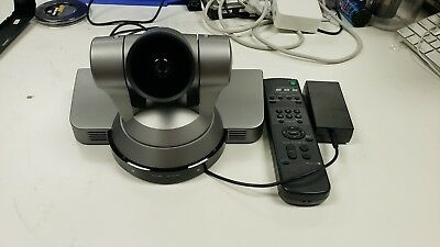 Sony HD-SDI Color Video Conference PTZ Pan Tilt Zoom Camera EVI-HD1 Remote/Power