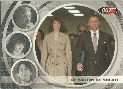 JAMES BOND ARCHIVES 2009 Quantum of Solace expansion card 68