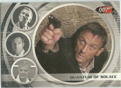 JAMES BOND ARCHIVES 2009 Quantum of Solace expansion card 67