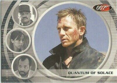JAMES BOND ARCHIVES 2009 Quantum of Solace expansion card 69