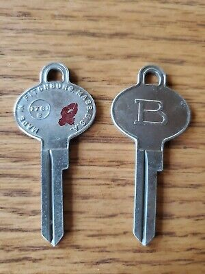 Lot of 2 BARGMAN 1761B  KEY BLANK UNCUT LOCKSMITH K120