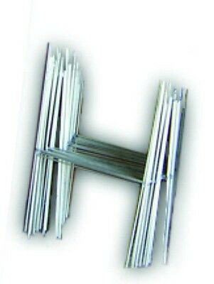 "100 H 10""x15"" Wire Step Stakes Holder Yard Sign Wire Stands Metal Signs"