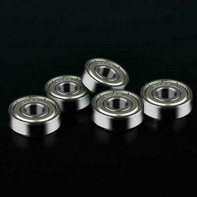 "3//16/"" x 3//8/"" x 1//8/"" 20pcs R166-2RS Black Rubber Ball Bearing Bearings R166RS"
