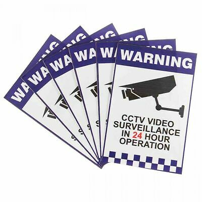 CCTV Warning Sign Security Video Surveillance Camera Safety Sign