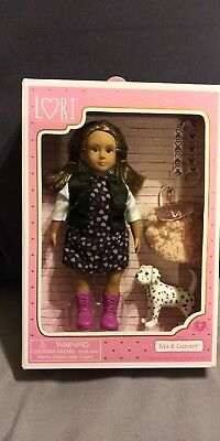 "Lori 6"" DOLL by Our Generation GIA Doll & GUNNER her Dalmatian Pup"