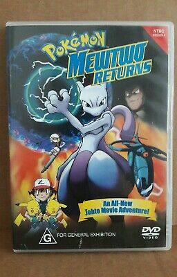 Pokemon Mewtwo Returns DVD Region 4