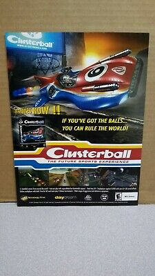 Clusterball (Strategy First) Print Ad/Poster Art PC 2001