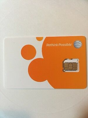 At&T Unlimited Internet Data Sim Card Only $80 Rental