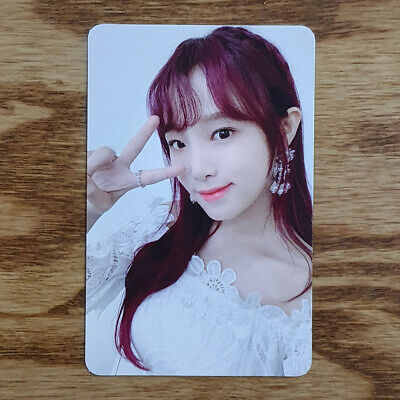 Choi Yena Official Photocard IZ*ONE 1st Album Bloom*IZ I Was ver Genuine