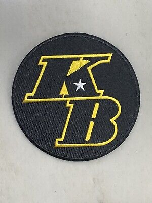 """NEW Commemorative Kobe Bryant KB RARE Patch Los Angeles Lakers 4"""" Round 2020"""