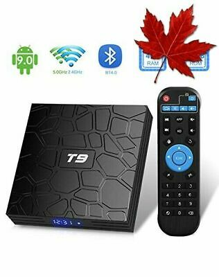 T9 Android Box Android 9.0, TUREWELL TV Box RK3318 Quad Core 64bit 4GB RAM 32...