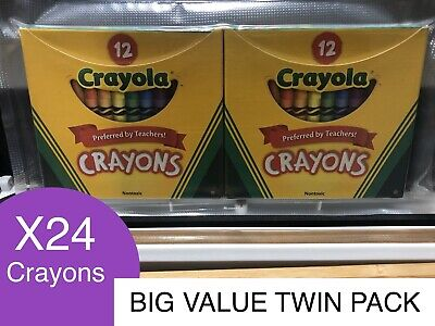 Crayons Kids Craft  x24 Activity Set 2 Pack BEST VALUE Almost Sold Out FREE Post