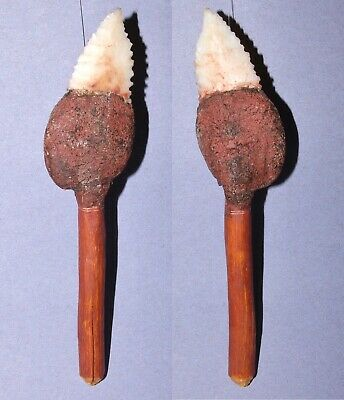 A Kimberley Point Spear. White Chalcedony. Aboriginal.