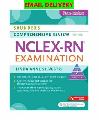 Saunders Review Comprehensive The Nclex-rn Examination ᴇʙᴏoᴋ