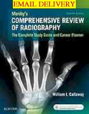 Mosby�s comprehensive review of radiography  the complete study guide ᴇʙᴏoᴋ
