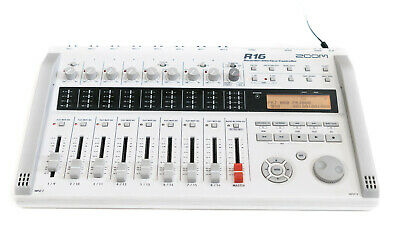 Zoom R16 Tragbar Mehrspur 16 Track Digital Rekorder Recorder Interface Audio SD