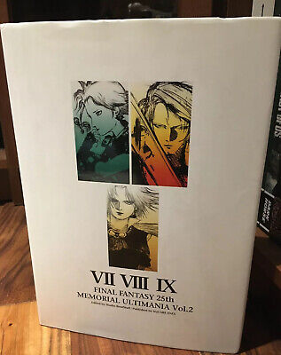 FINAL FANTASY 25th Memorial Ultimania Vol.2 VII VIII IX ArtBook - US SELLER