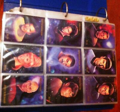 Star Trek - Collector Card Multiple Complete Sets - Exceptional