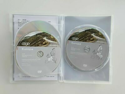 Audi Navi DVD Plus Europa Karte Version 2019 DVD 1 2 3 RNS-E 8P0060884DD