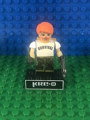 Dialtone KRE-O Series 5 Minifigure GI Joe Cobra Dreadnok Kreo Kreon