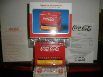 Coca Cola Coke Musical Slider Machine Bank New In Box From 1997