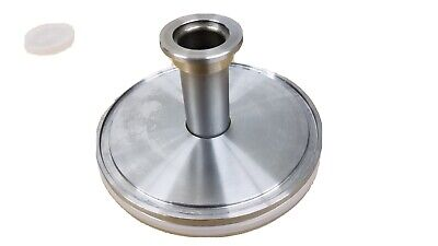 ISO 100 to NW (KF) 25 Reducing Vacuum Flange, Stainless Steel