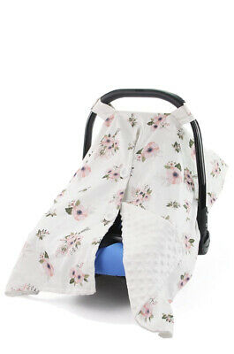 Carseat Canopy Cover Nursing Cover Breathable Cotton Infant Car Seat