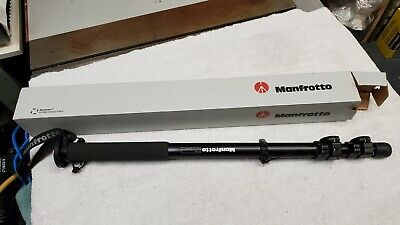 Manfrotto 679B Monopod Black Photo Camera
