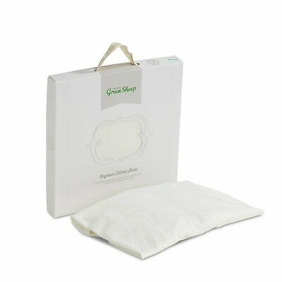 The Little Green Sheep Organic Cotton Cot Bed Fitted Sheet
