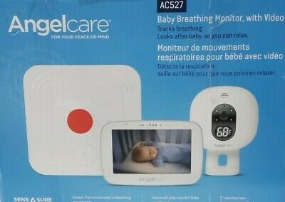 "Angelcare 5"" Video & Breathing Baby Monitor with Two-way Communication (AC527)"