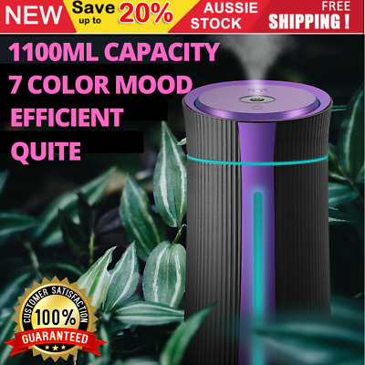 Ultrasonic Air Humidifiers Aroma Aromatherapy Diffuser Essential Oil Purifier