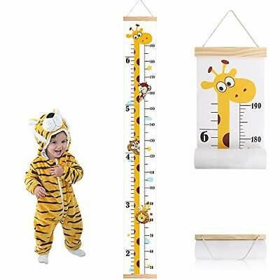 Baby Height Growth Chart, Wall Hanging Measuring Ruler for Kids, Removable