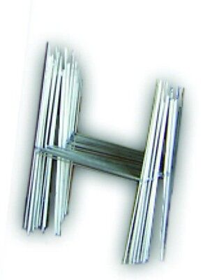 "100 H 10""x15"" Step Stakes Holder Yard Sign Wire Stands Yard Sale Corrugated"