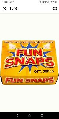 2 BOXES OF FUN SNAPS THROW BANGER SNAP BANGS PARTY SNAPS PARTY BAG FILLERS.....x