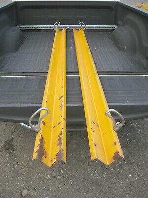 Fire Truck Suction Hose Carrier Troughs