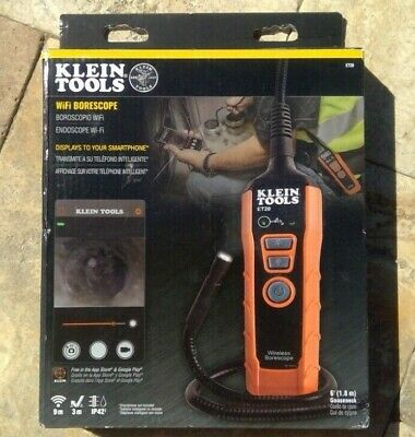 🌟🎈 Klein Tools ET20 Wifi Borescope Inspection Camera 🌟