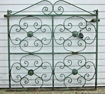 Antique Wrought Iron Single Gate Heavy 22 kg.
