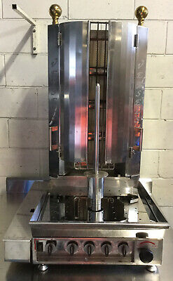 Commercial Veysels KMB4E Semi-auto  Kebab Machine 4 Burner NG Used For 3 Months