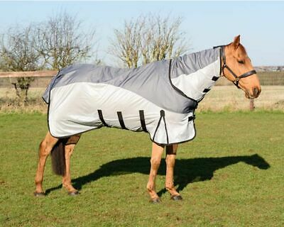 Waterproof Top TURNOUT FLY Rug Combo Lightweight 0g Horse Pony Sheet 5'0'' - 7'0