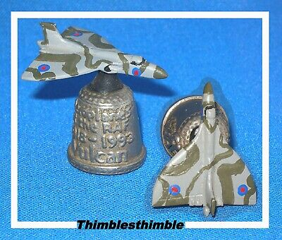 Pewter Stephen Frost Hand Painted Vulcan Thimble.....